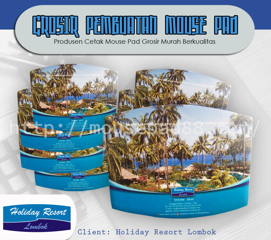 Mousepad Client Holiday Resort Lombok